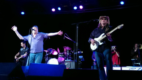 Southside Johnny and Glenn Alexander onstage